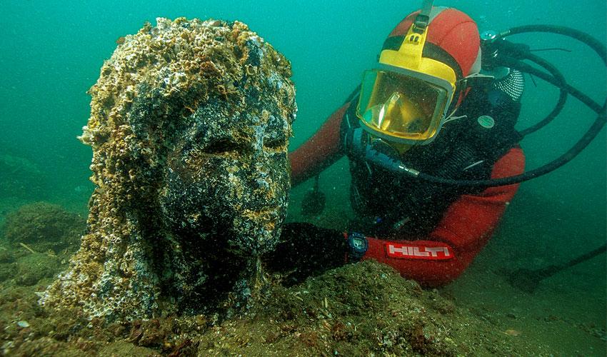Art Matters - Egypt's Sunken Cities: Recent Underwater Archaeology Discoveries