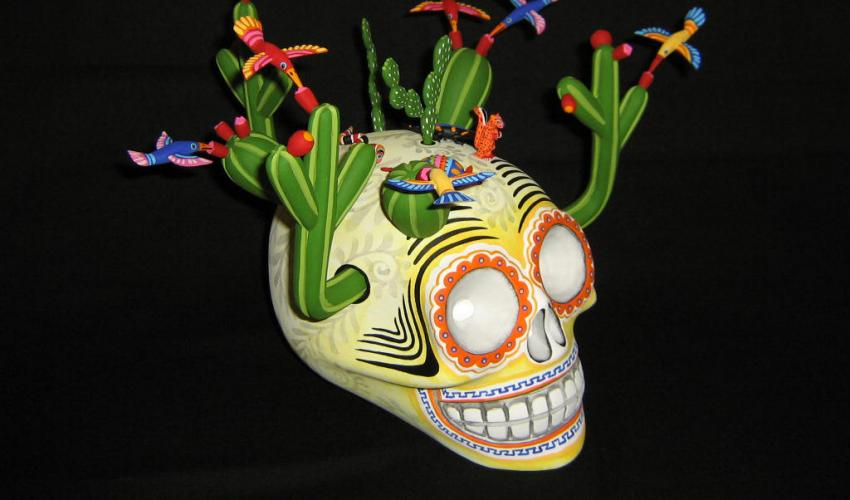 Live from Oaxaca - Celebrating Day of the Dead (via Zoom): Artisan Studio Visit with Wood Carver Zeny Fuentes Santiago