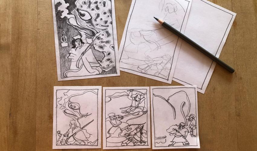 Adult Studio Art Workshop (via Zoom): Introduction to Drawing