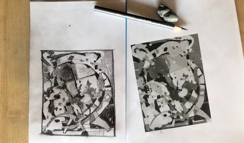 Adult Studio Art Workshop (via Zoom): Drawing