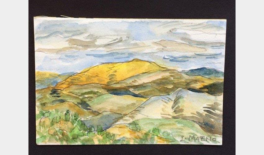 Adult Studio Art Workshop (via Zoom): Watercolor Painting - Landscape