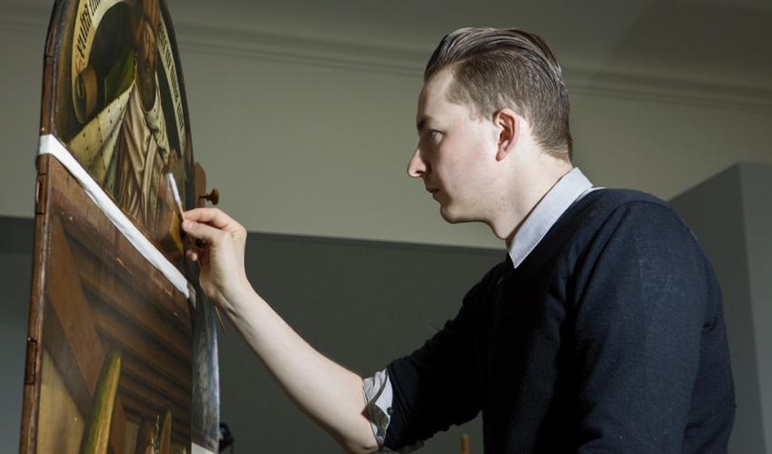 """Art Matters Lecture - <em>Restoration/Revelation: The Conservation Treatment of the """"Ghent Altarpiece""""</em> with Bart J.C. Devolder (via Zoom)"""