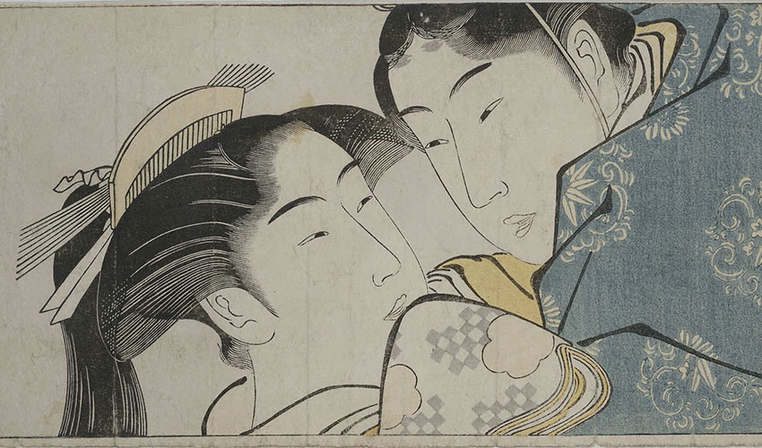 The Erotic Art of Japan's Ukiyo-e Masters in a Comparative Context with  Dr. Ellis Tinios